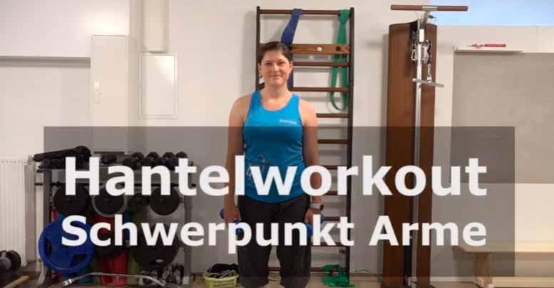 Sportlaedchen fitness4me video KH Trizeps Bizeps