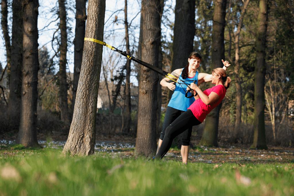 Personal Fitness Training im Park in Kerpen und Umgebung